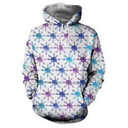 Sweat à capuche homme 3D Fashion Sport Noël -