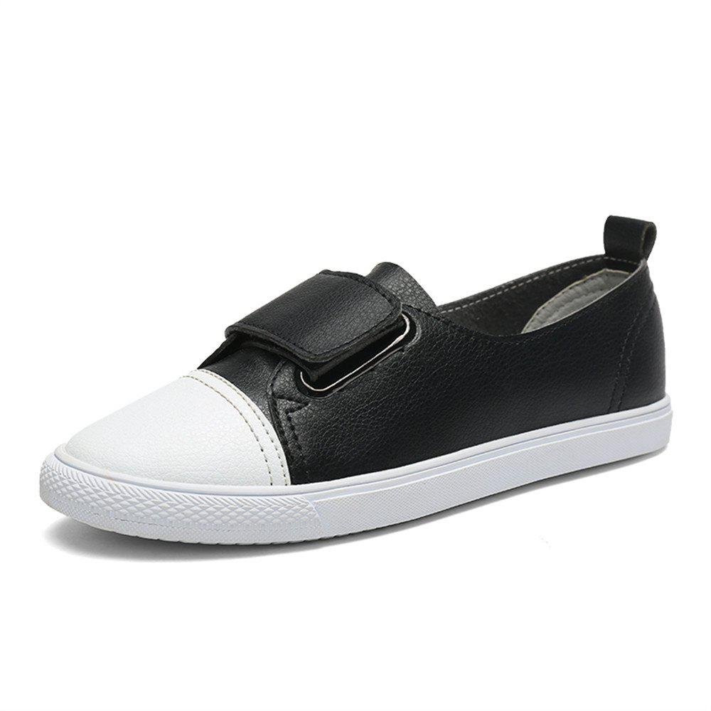 Store Women's  Casual Comforable Flat Leather Shoes