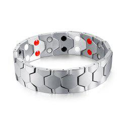 Cool Magnetic Stainless Steel Bracelet Men Jewelry Gift -