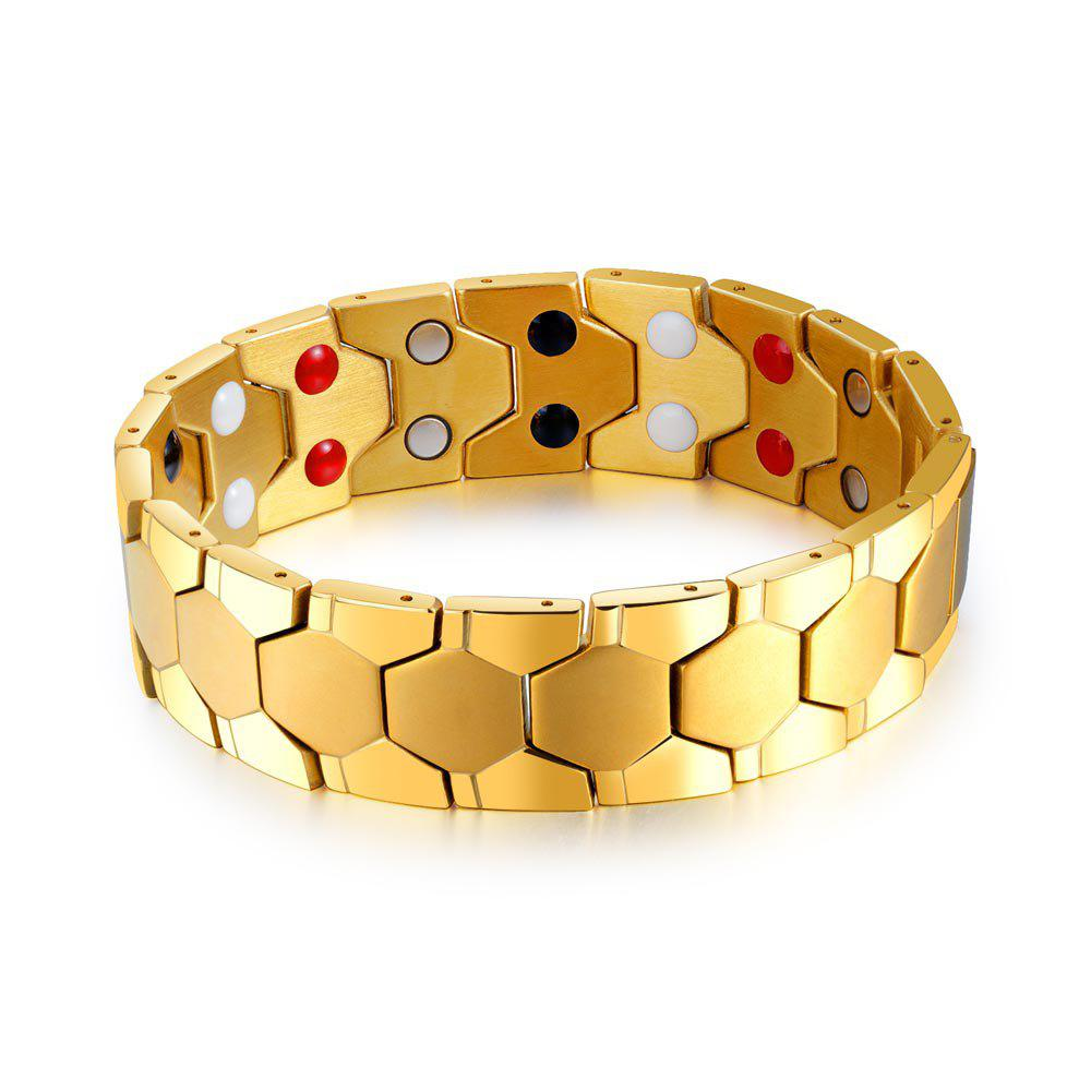 Sale Cool Magnetic Stainless Steel Bracelet Men Jewelry Gift
