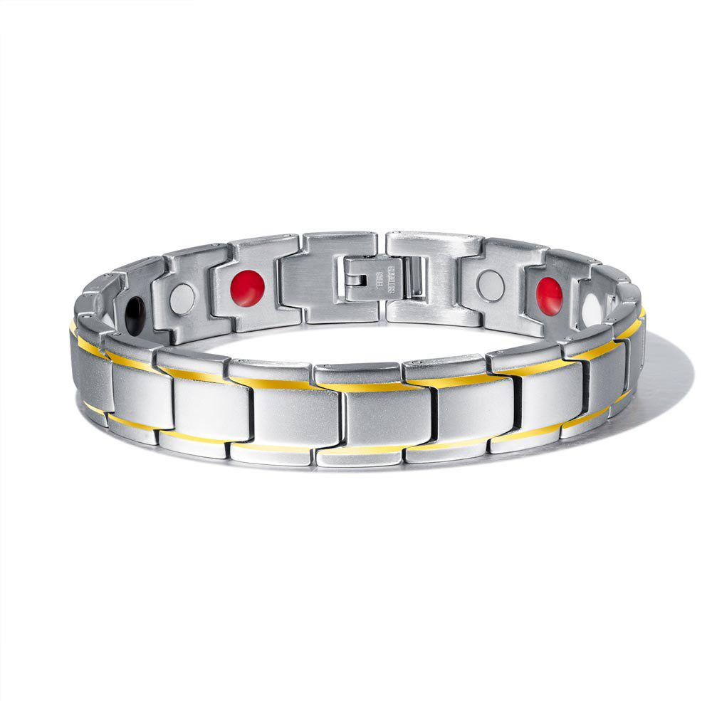 Affordable Stainless Steel Healthy Magnet Bracelet Men Jewelry
