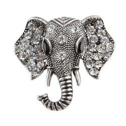 Anti Alloy Cartoon Zicron Elephant Nose Brooch -
