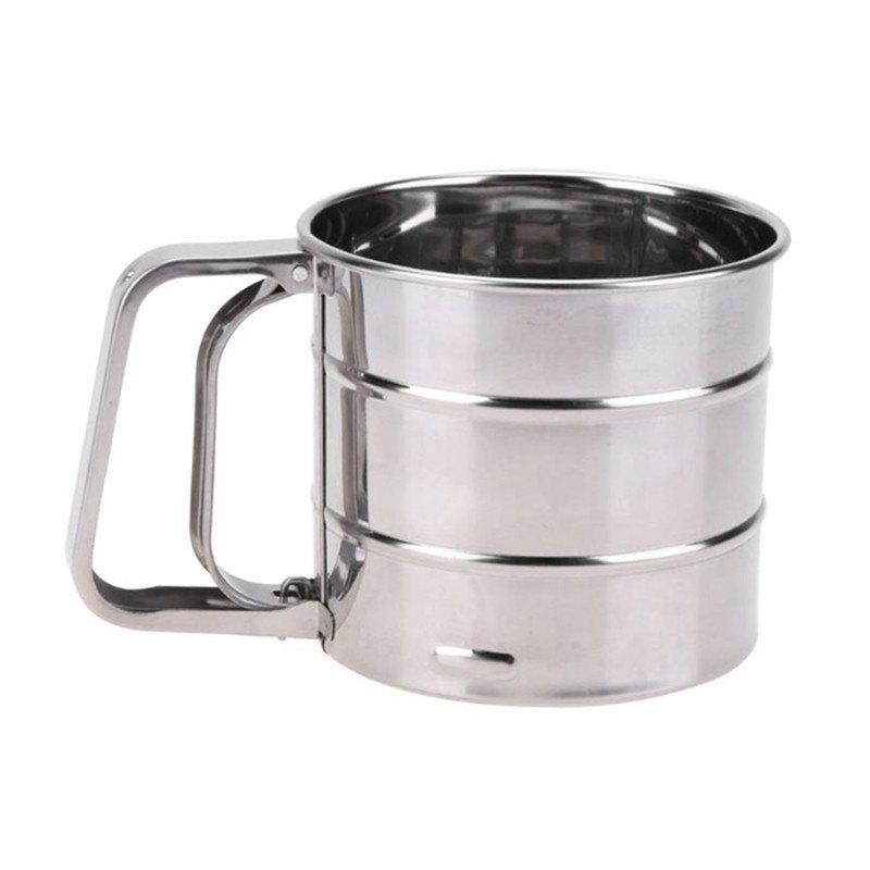 Latest Brand New Stainless Steel Sieve Cup Powder Flour Mesh Sieve Baking Tools