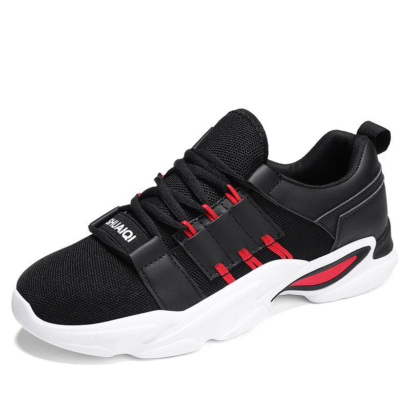 Outfit Four Seasons Tide Men's Fashion Breathable Sports Shoes