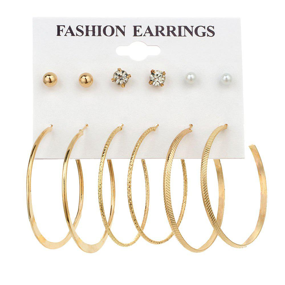 Latest 6 Pair Mini Ear Studs
