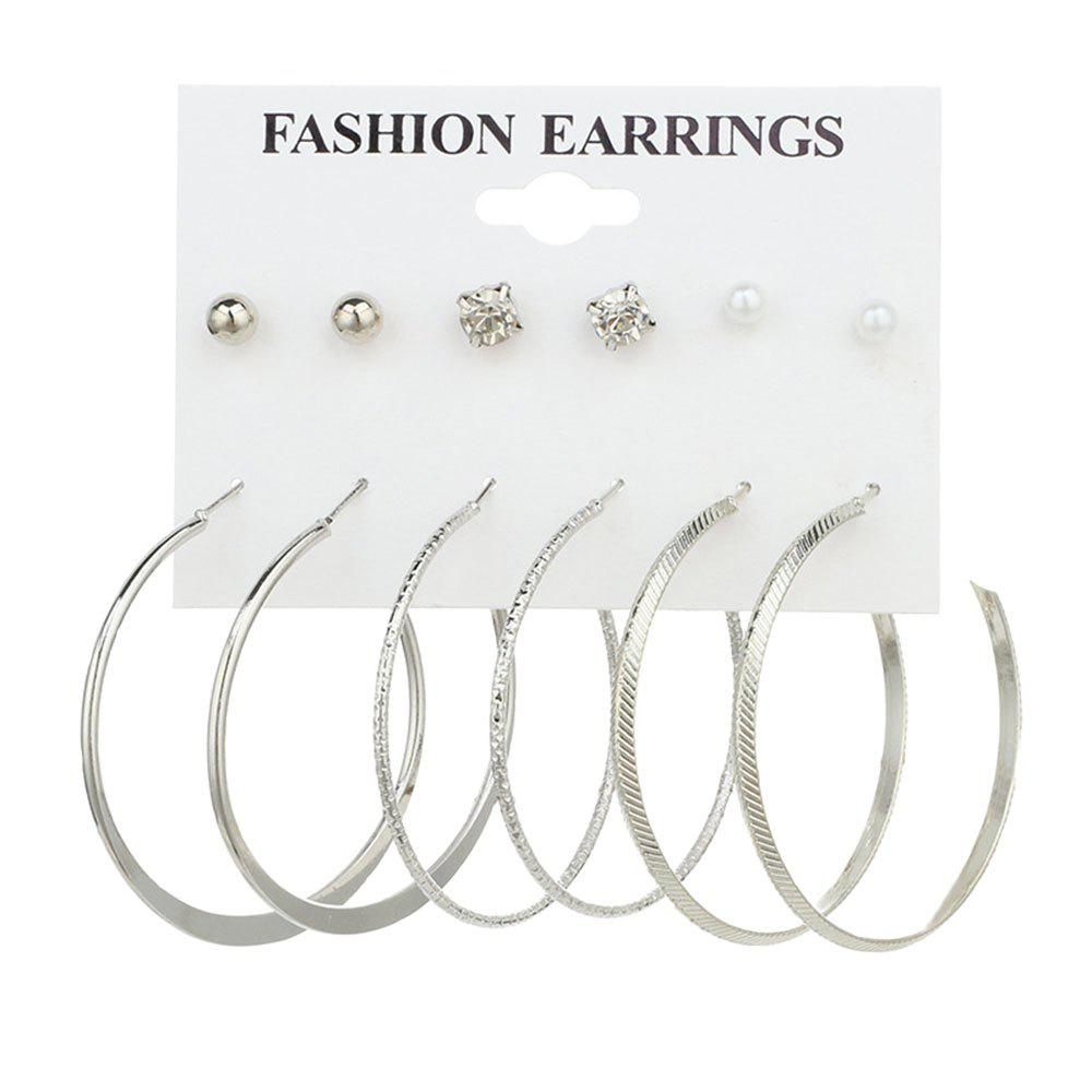 Outfit 6 Pair Mini Ear Studs