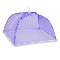 43cm Home Folding Dish Cover Fine Mesh Large Anti Fly Family Food Net Covers -