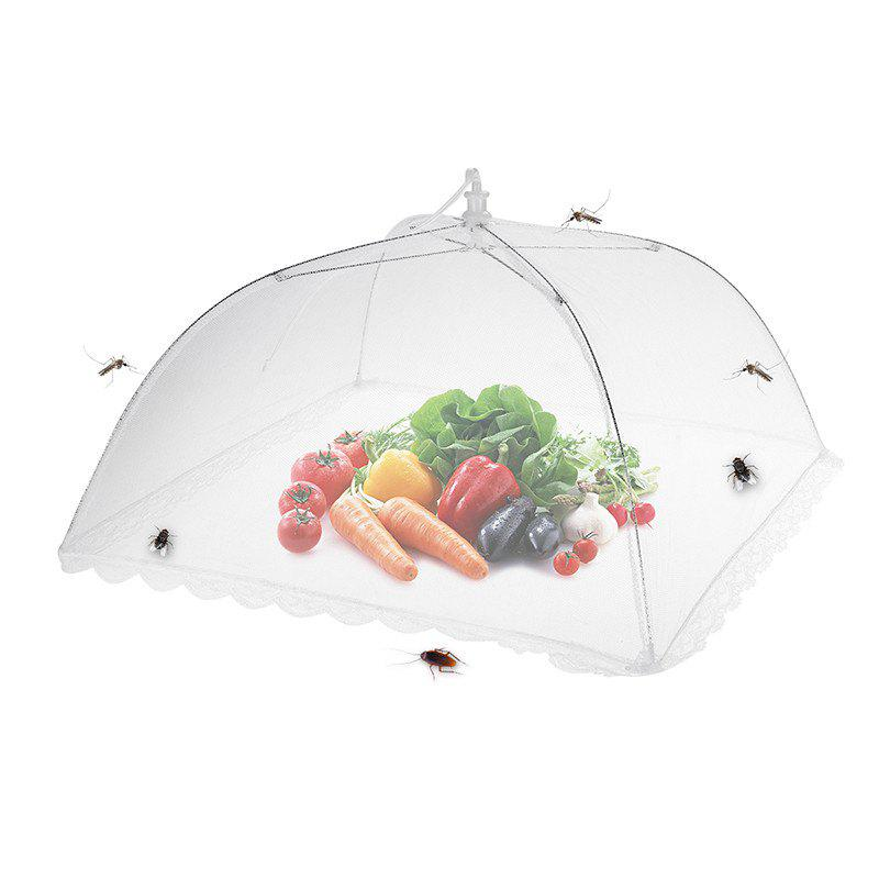 Unique 43cm Home Folding Dish Cover Fine Mesh Large Anti Fly Family Food Net Covers