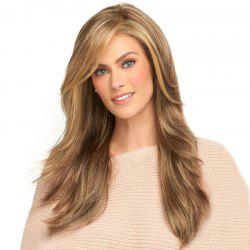 Fashionable Water Ripple Long Wig -
