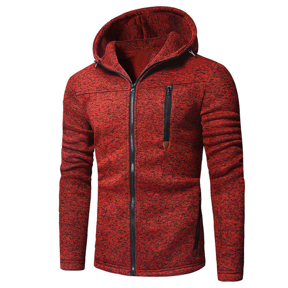 Online Men's  Fashion Casual Zip Sweatshirt