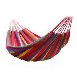 Portable 190 x 80cm Canvas Camping Swing Outdoor Hammock Garden Home Travel -