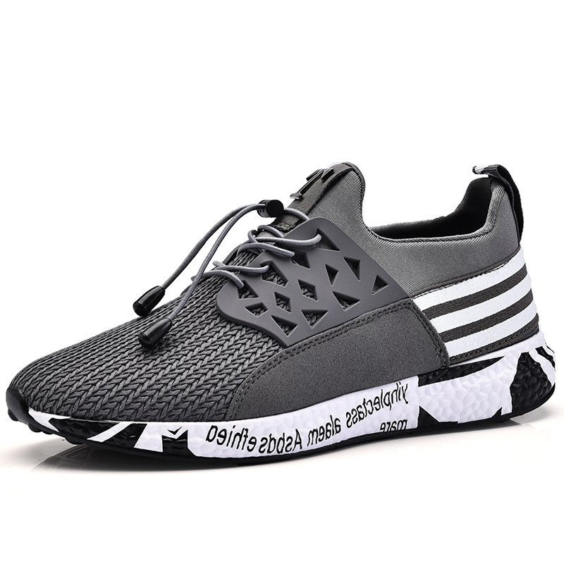 Affordable Men Leisure Fashion Hiking Sport Running Shoes Breathable Walking Sneakers