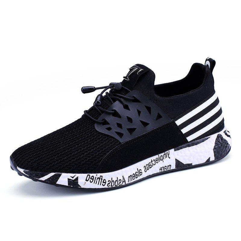 Hot Men Leisure Fashion Hiking Sport Running Shoes Breathable Walking Sneakers