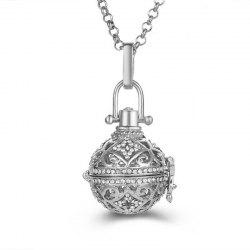 Aromatherapy Essential Oil Diffuser Piano Beads Antenatal Necklace -