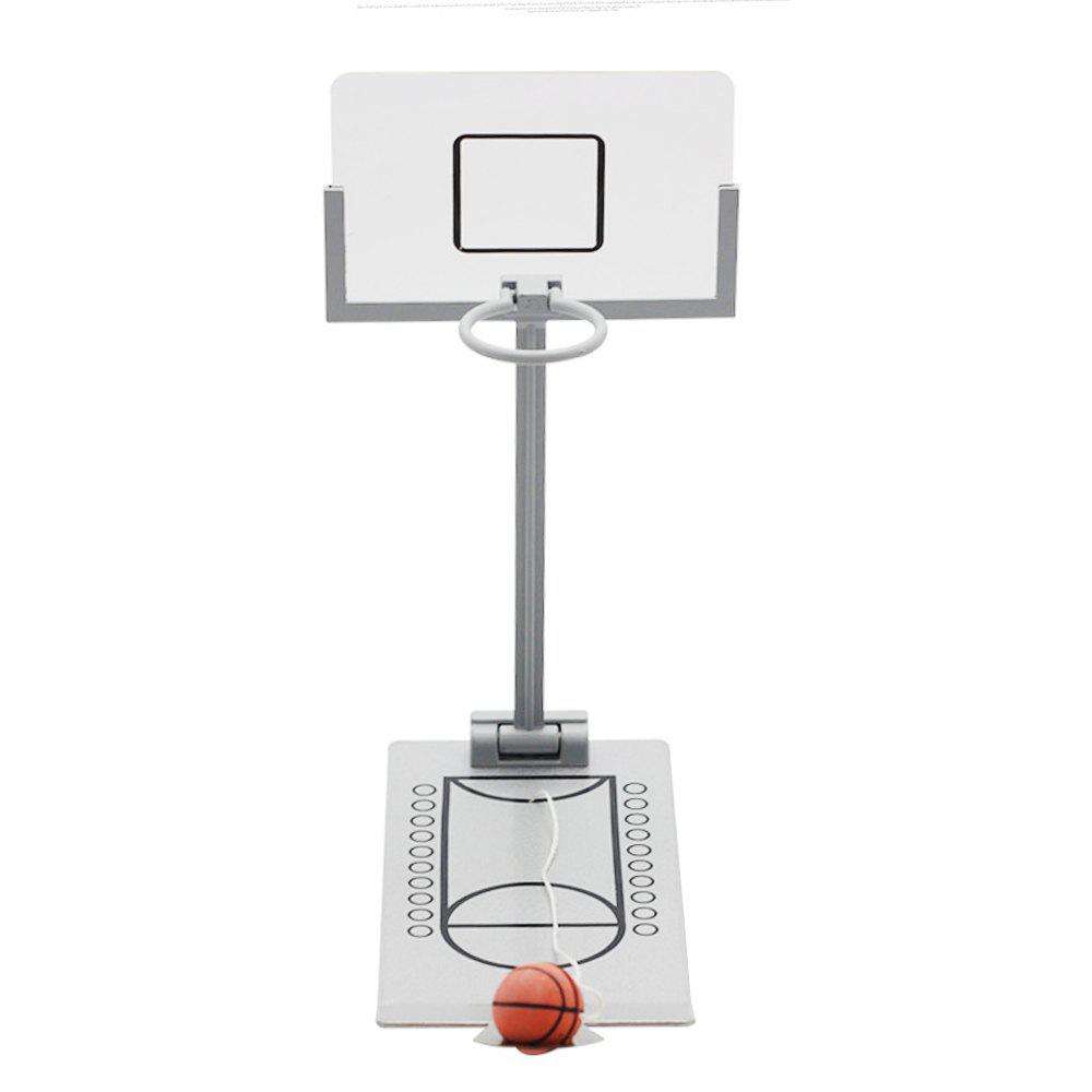 Jouet de décompression miniature de mini machine de basket-ball pliant de bureau