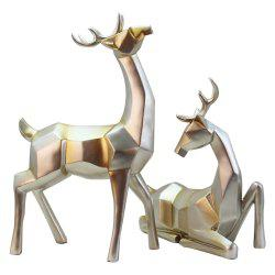 High-Grade Sika Deer Crafts Continental Home Decoration Ornaments -