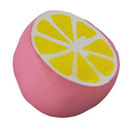 Jumbo Squishy Pink Lemon Toy -