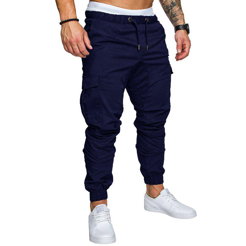 Chic New Men's Casual Tether Elastic Sports Trousers