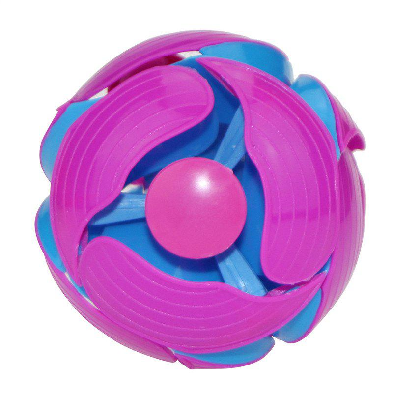 Hot Magic Telescopic Throwing Discoloration Ball Educational Toy