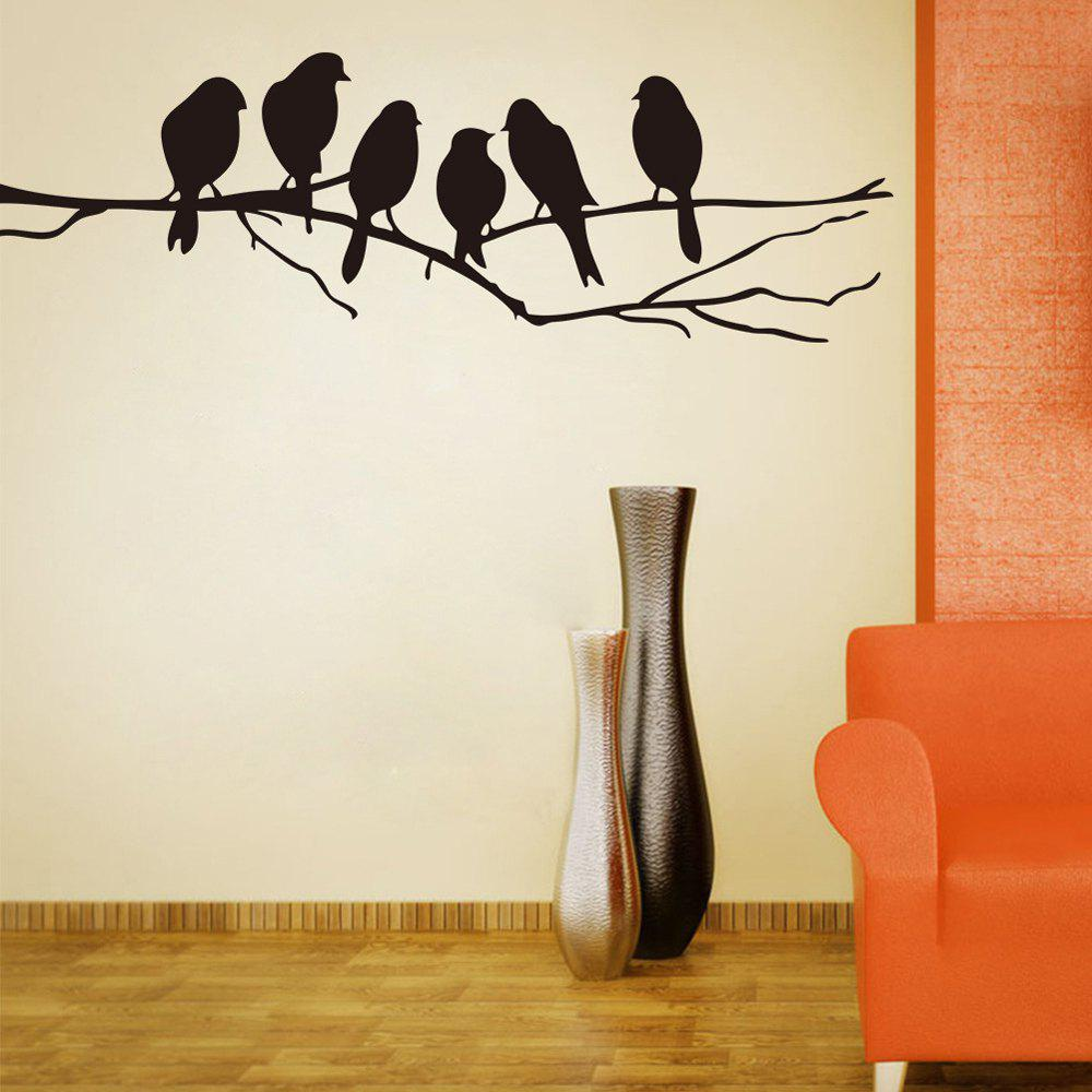 Branch Birds PVC Wall Stickers