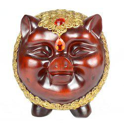 Creative Lucky Pig Resin Crafts Decoration -