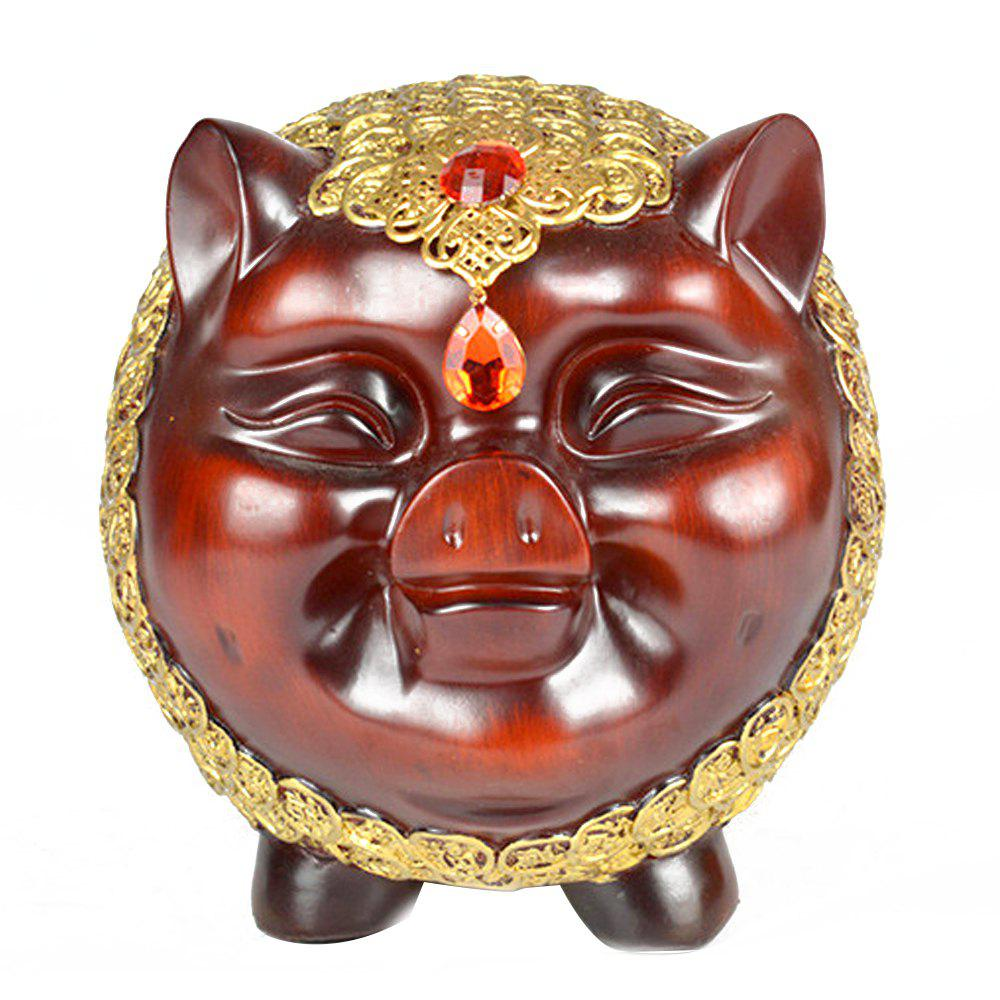 Trendy Creative Lucky Pig Resin Crafts Decoration
