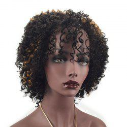 Fluffy Explosion Small Curl Short Wig -