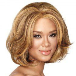 Fluffy Central Parting Hair Wig -