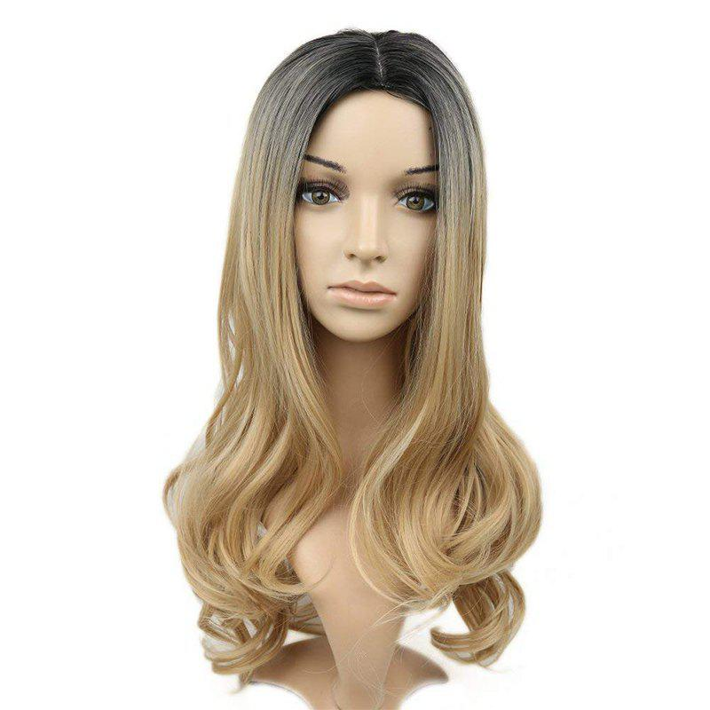 Affordable Long Curly Wig Heat Resistant Synthetic Wig