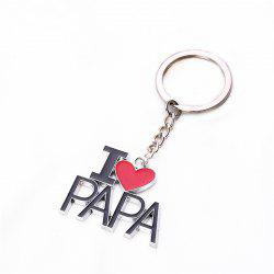 Father Day Keychain Small  Gift -