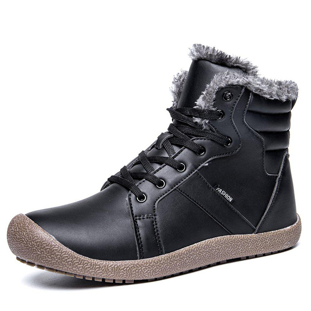 Outfit Winter Casual Warm Leather Snow Boots For Women