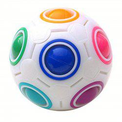 Heteromorphic Football Creative Puzzle Enfants Toy Decompression Magic Cube -
