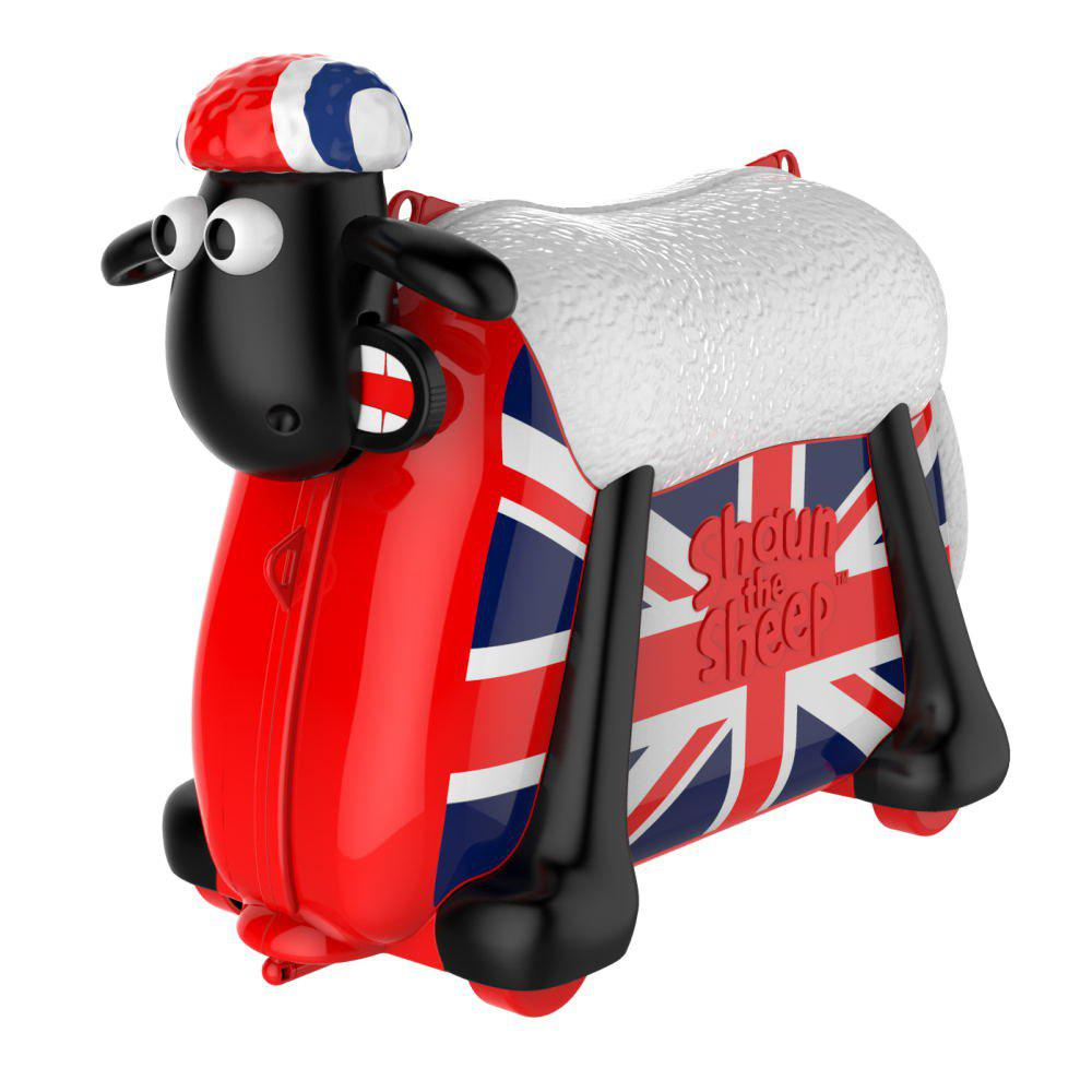 shaun the sheep Ride on Toy et valise