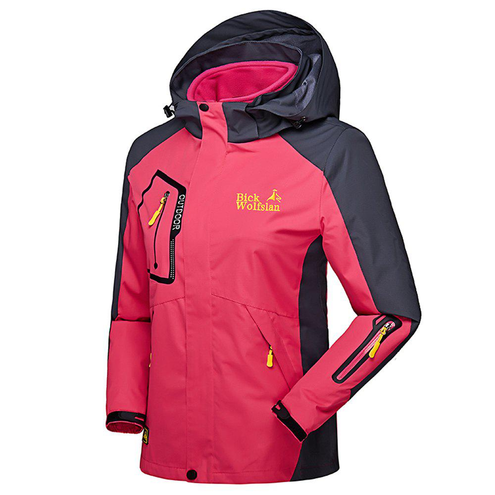 Shop Ladies Water Resistant Windproof Breathable Large Size Outdoor Hood Jacket