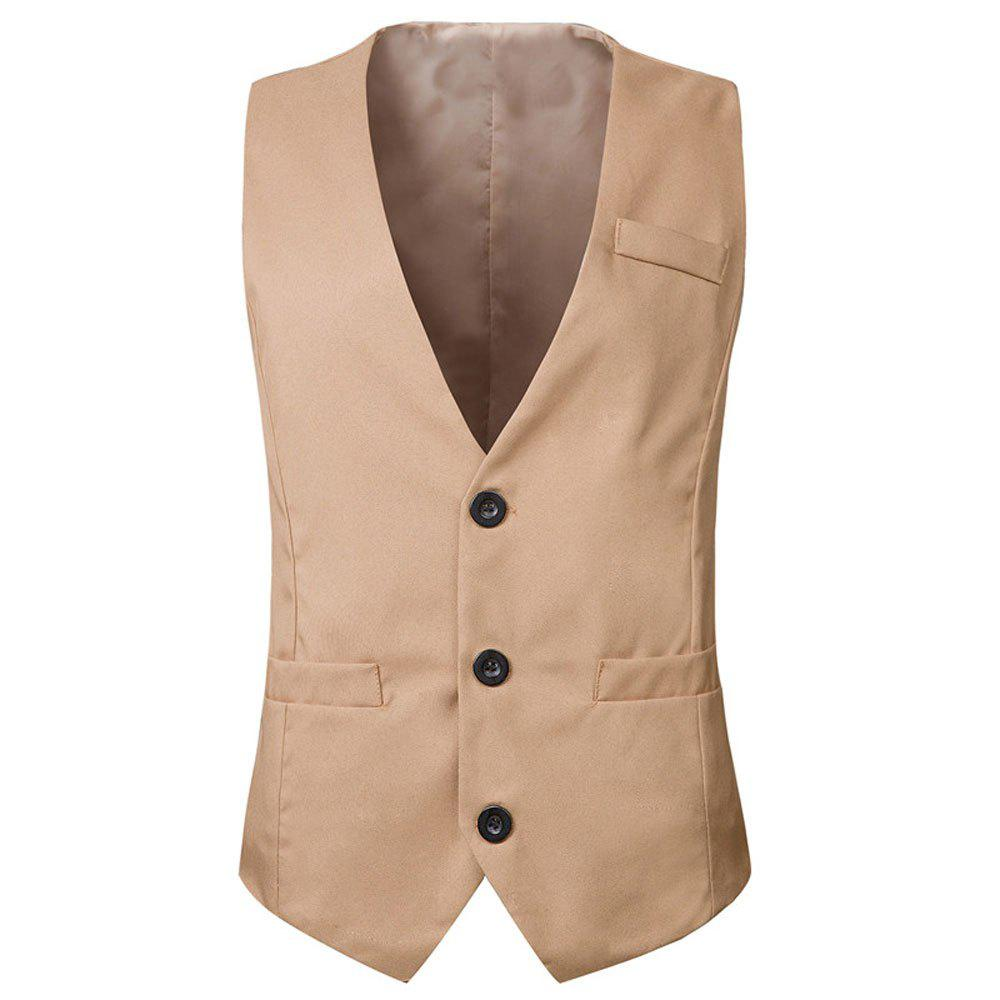 Trendy Men's  Fashion Casual Suit Vest
