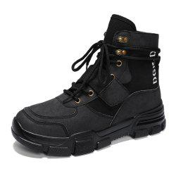 Men High-Cut Outdoor Working Safety Boots -