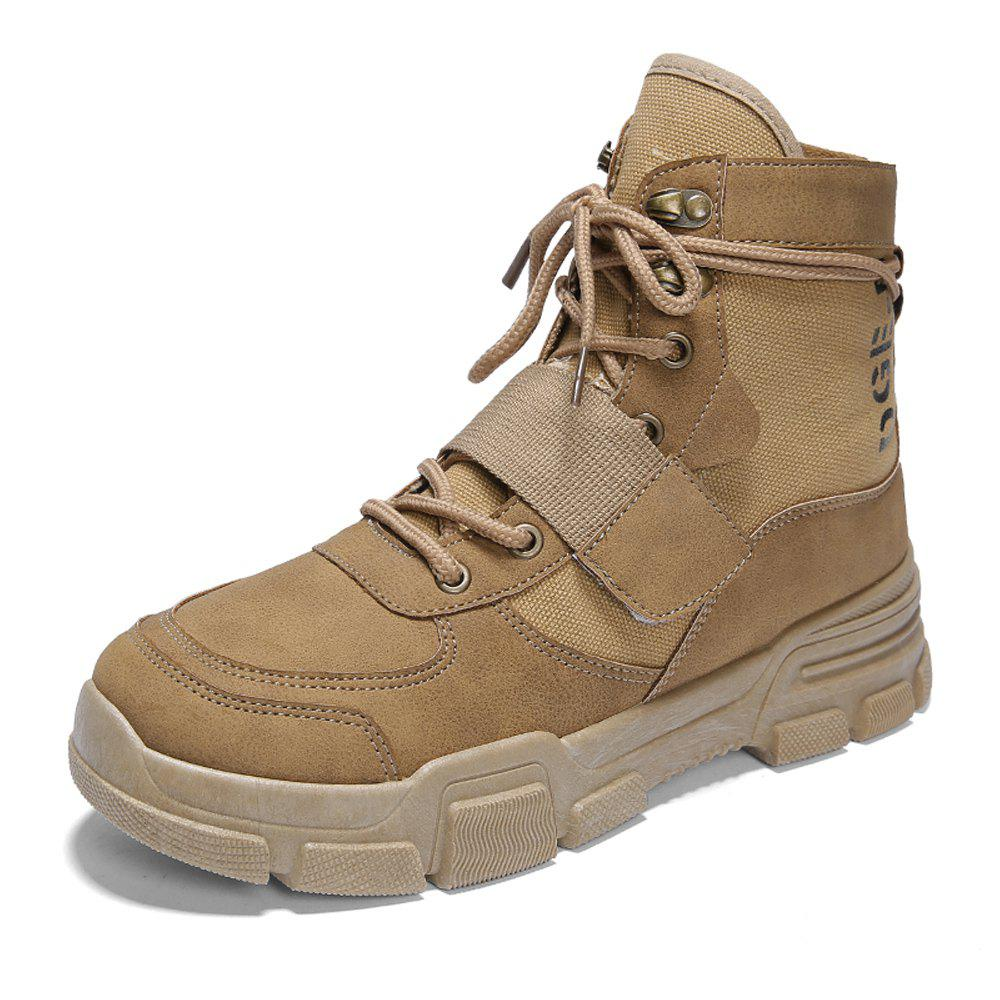 Fashion Men High-Cut Outdoor Working Safety Boots