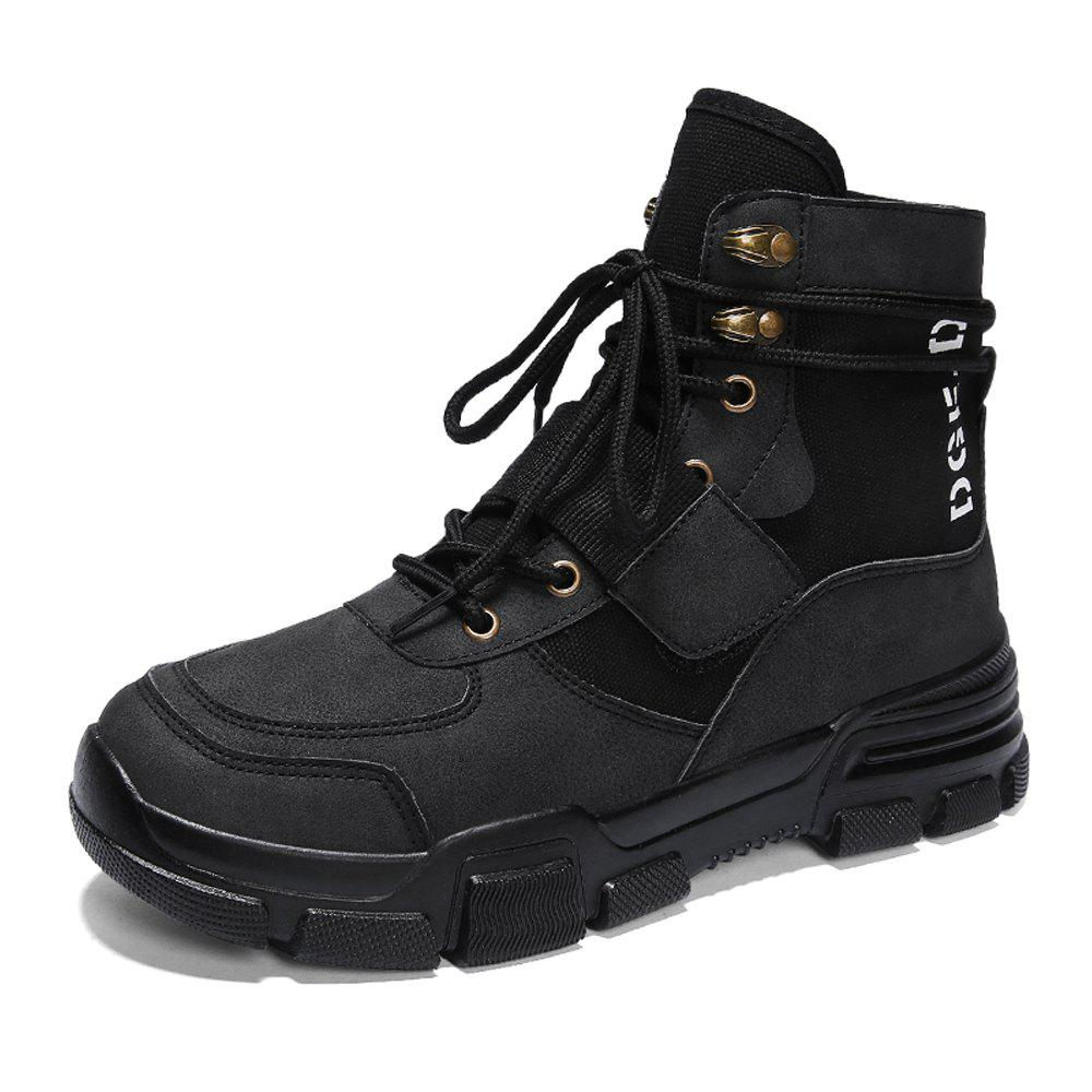 Unique Men High-Cut Outdoor Working Safety Boots