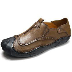 Outdoor Flat Bottomed Feet Anti Collision Men'S Casual Shoes -