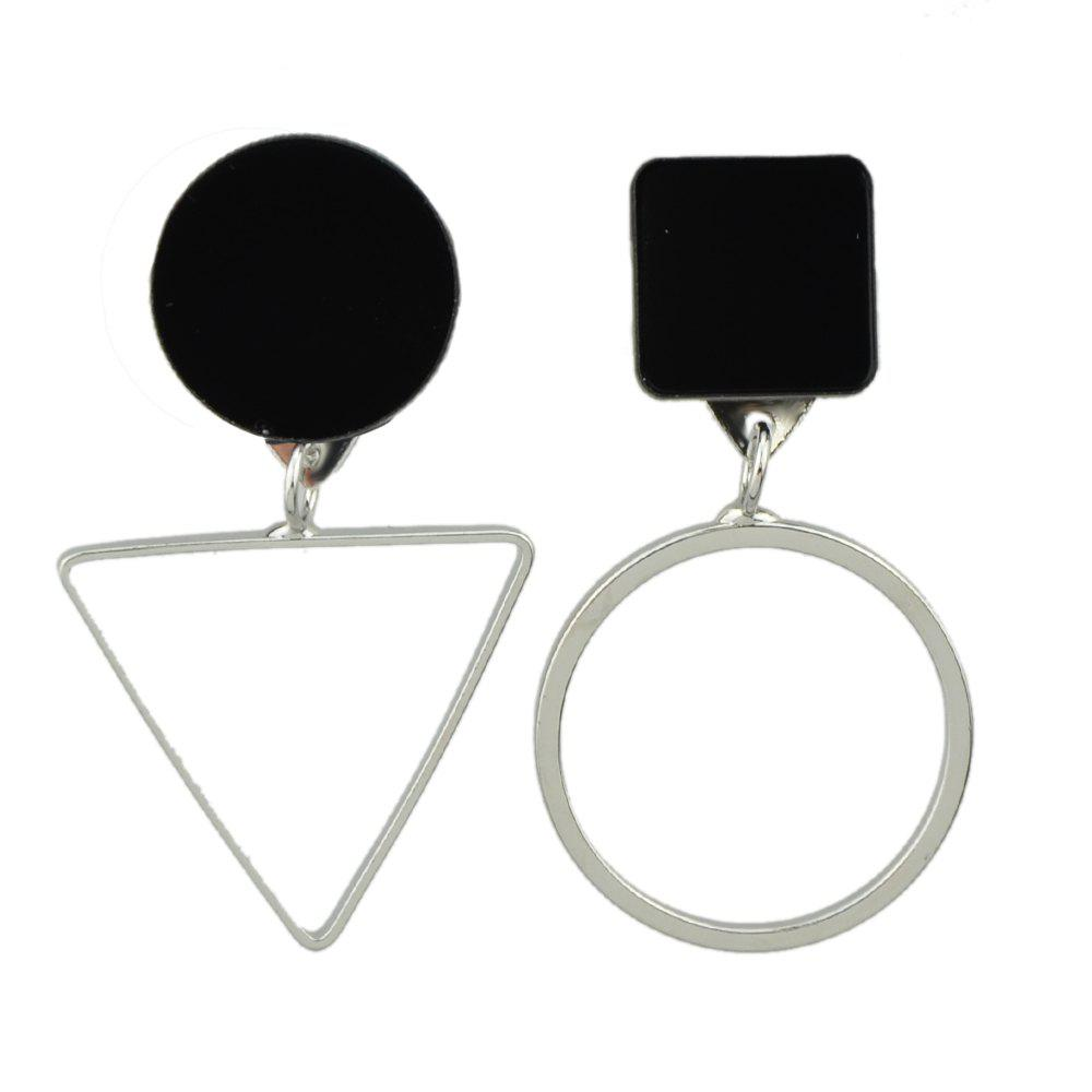 Chic Fashion Geometric Pendant Earrings