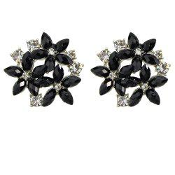 Fashion Minimalist Metal Flower Earrings -