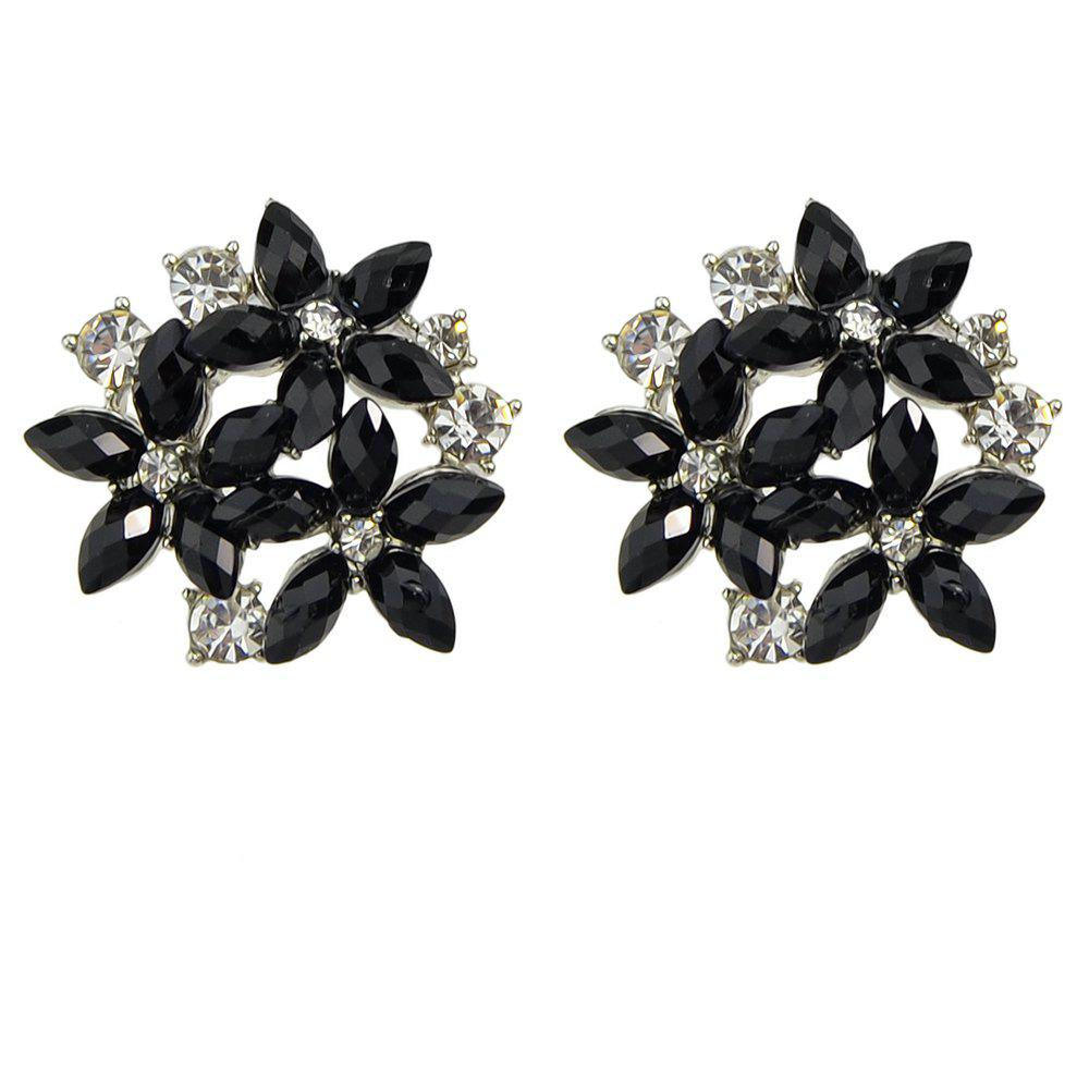 Shops Fashion Minimalist Metal Flower Earrings