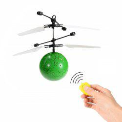 RC Infrared Induction Helicopter Ball Set-in Shinning LED Lights for Kids -