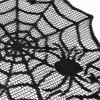 Black Spider Web Perfect for Halloween Dinner Parties and Scary Movie Nights -