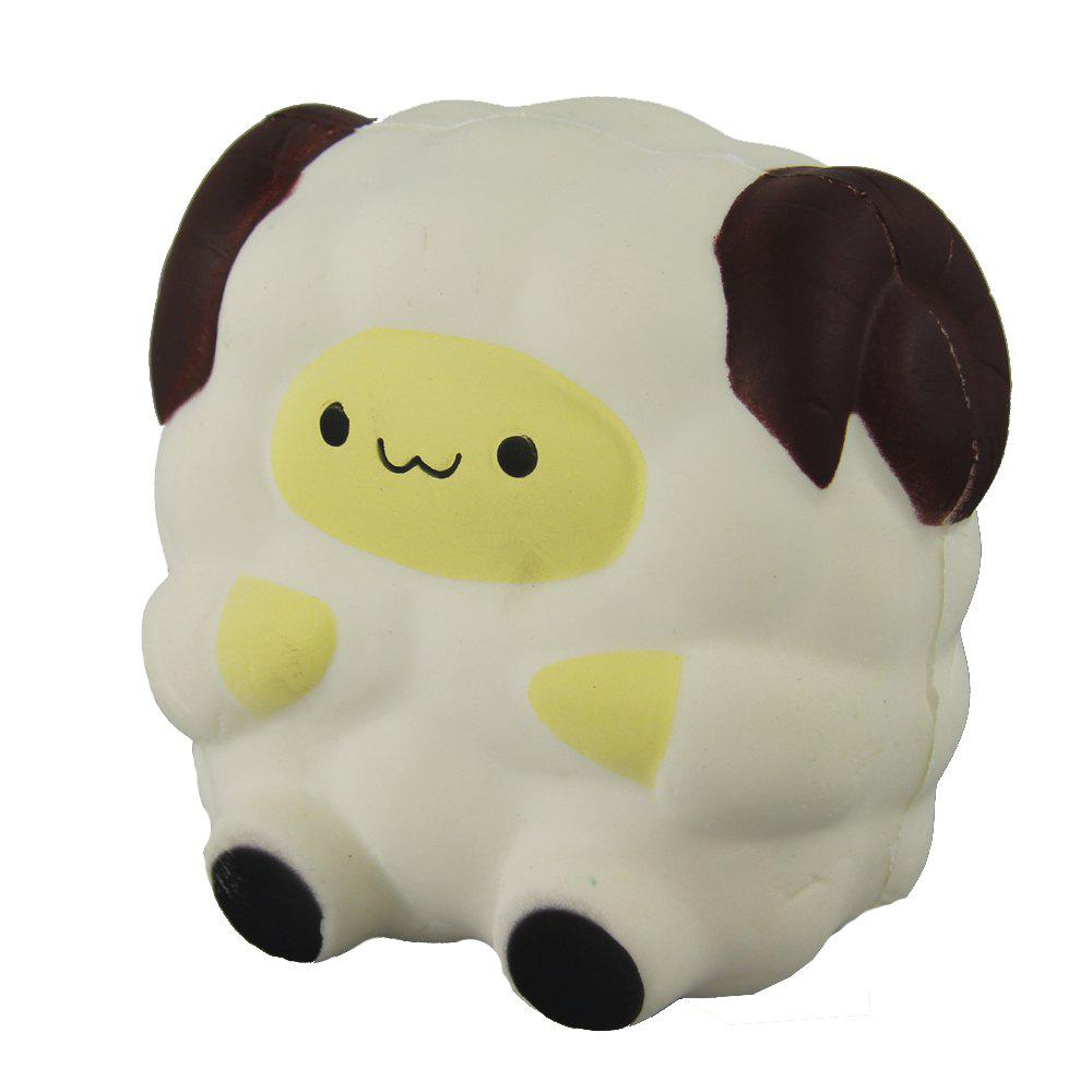 Mouton Blanc Squishy Jumbo Soulager Jouet Stress