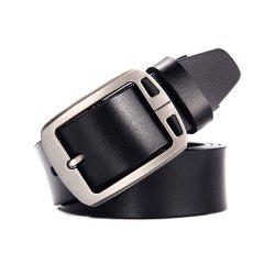 Classic Designs Men'S Two Layers of Cowhide Leather Belt -