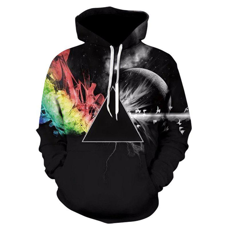 Outfit 3D Print Men's Sweater Coat Street Casual Graphic T-shirt Hoodies