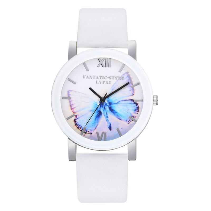 P672 Big Butterfly Mirror Student Watch