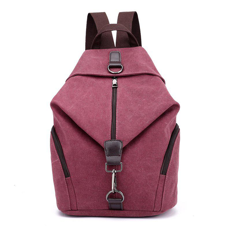 58a519fd43 Online New Style Fashion Canvas Travelling School Backpack