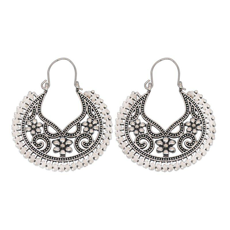 Cheap Dangle  Hollow Out Round Shape Vintage Earrings